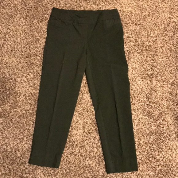 Sharagano Pants - Army green pull on dress pants. Super comfy!!!